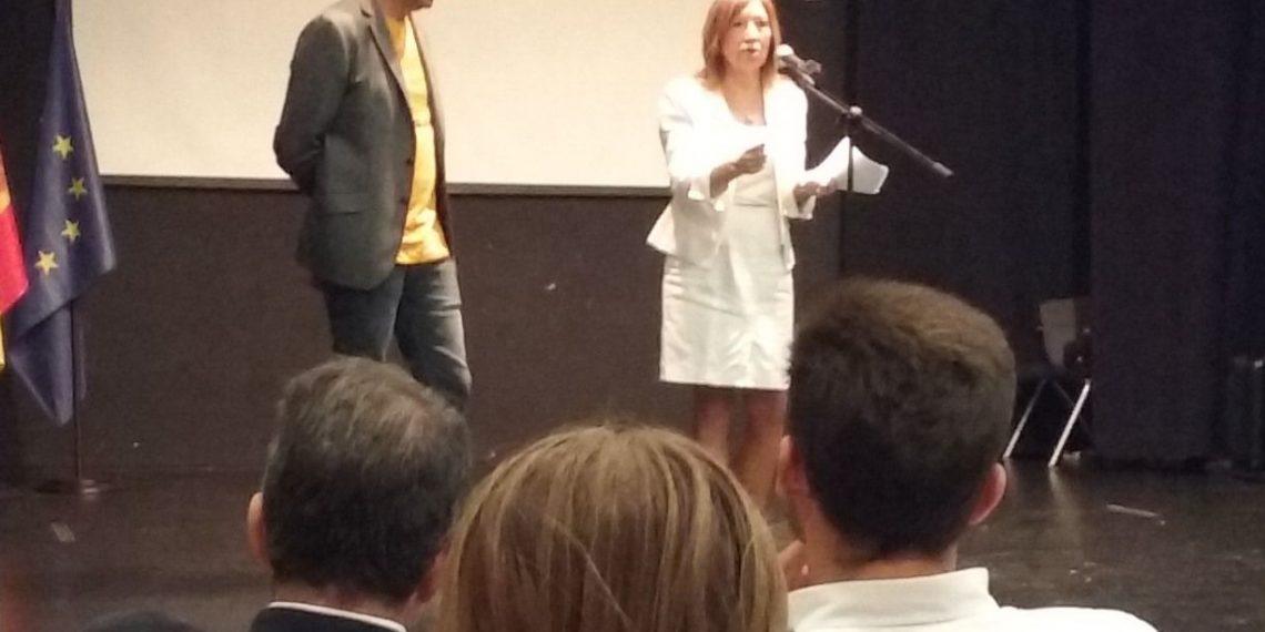 Gorka Maneiro y Dolores Agenjo.
