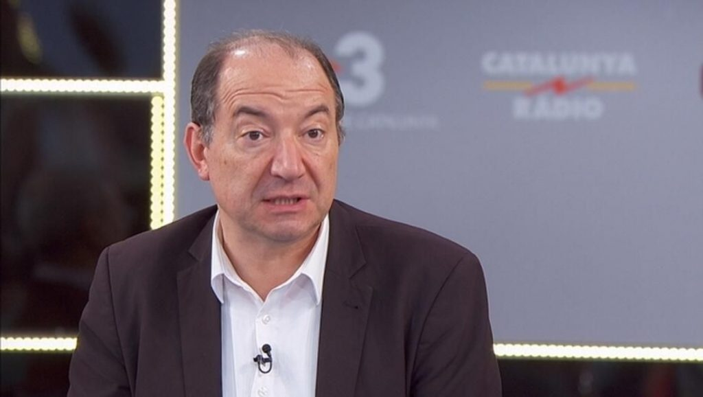 Vicent Sanchis, director de TV3