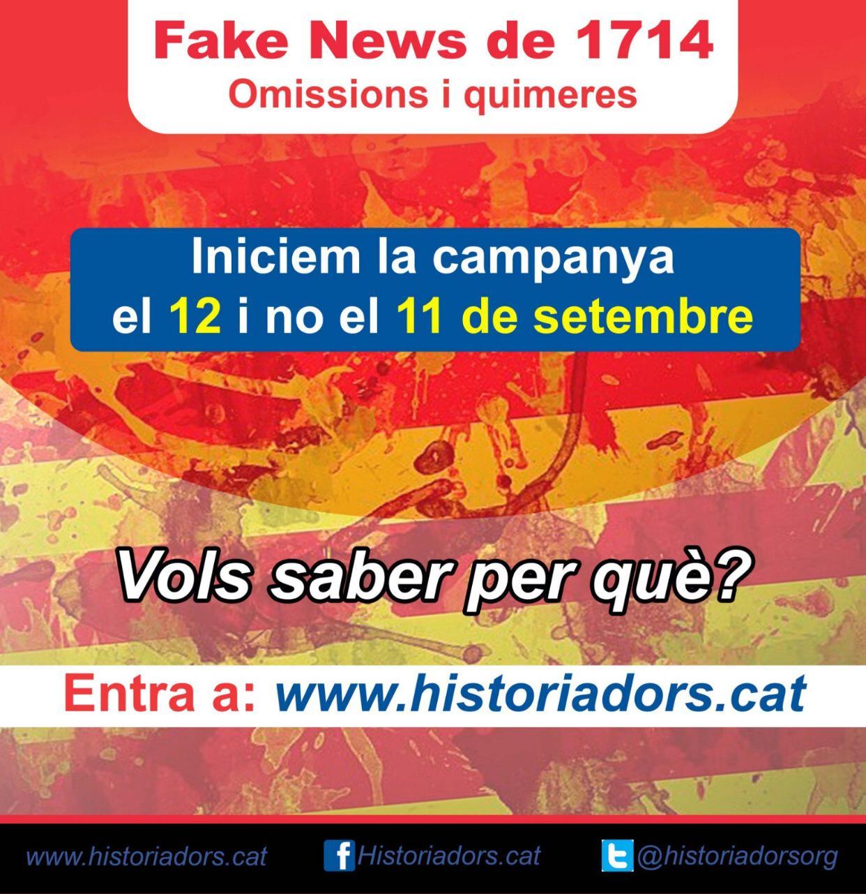 La Diada es una 'fake news', Barcelona no capituló el 11-S de 1714 ante las tropas borbónicas | El Catalán