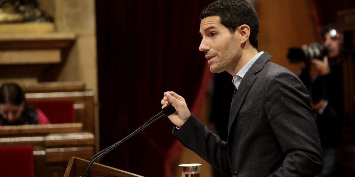 Nacho Martín Blanco en el Parlament