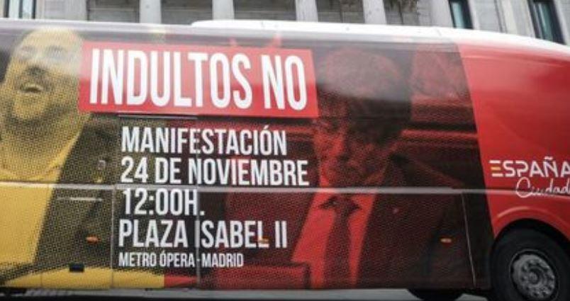 Autobus Ciudadanos no indultos