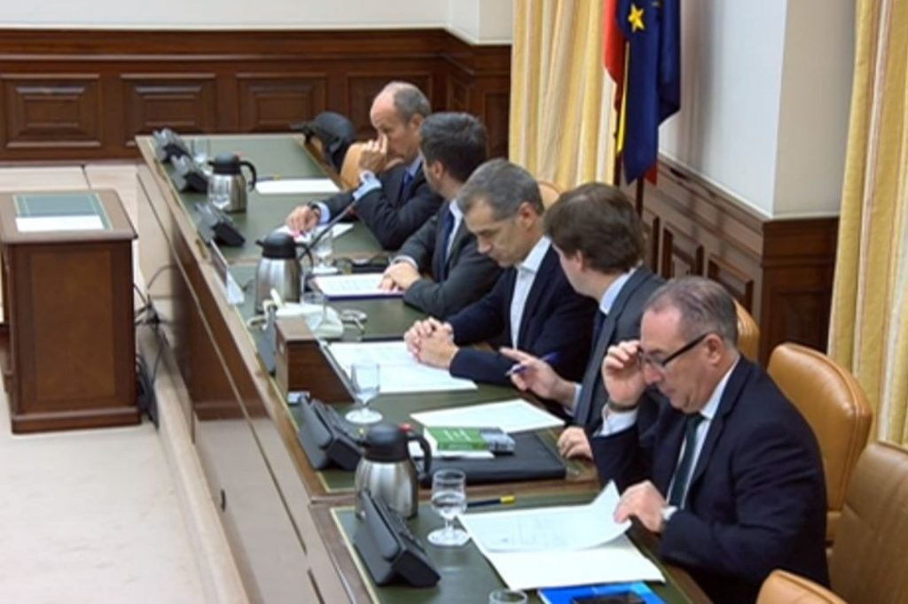 Comparecencia Congreso de los Diputados José Rosiñol