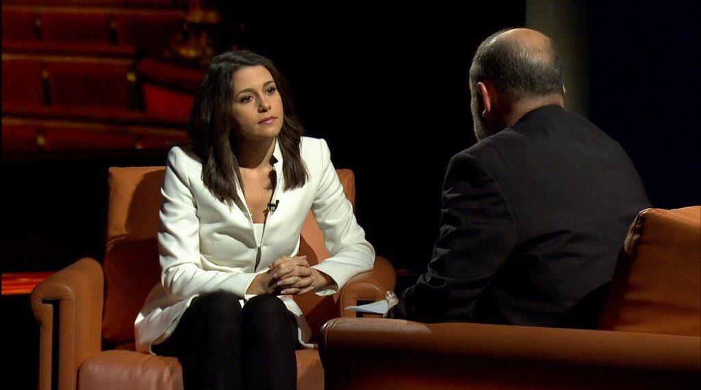 Inés Arrimadas entrevistada por Vicent Sanchis