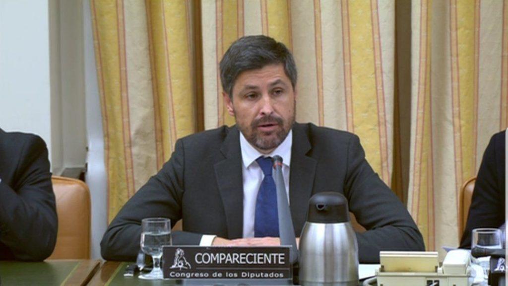 José Rosiñol en el Congreso de los Diputados