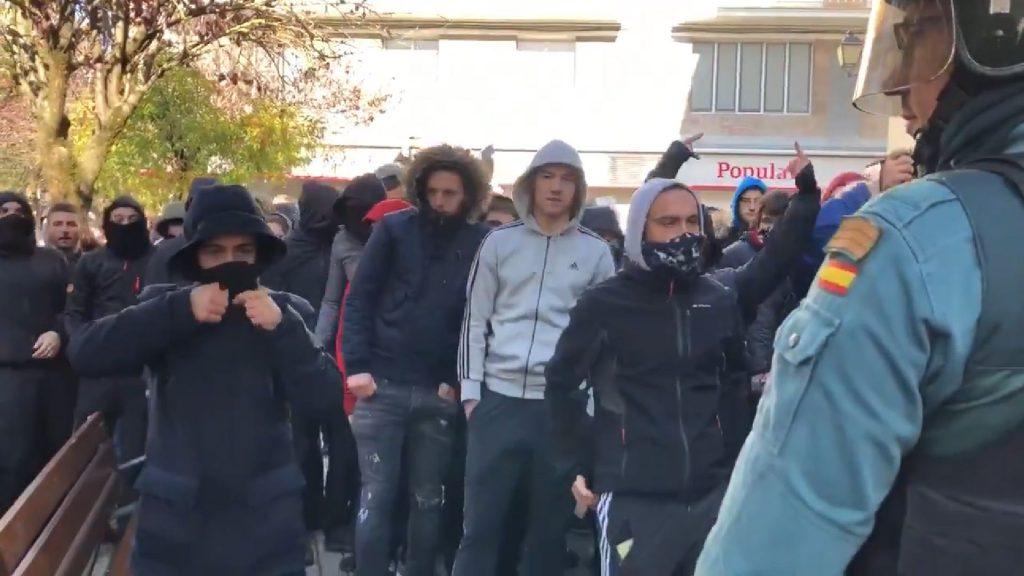 Radicales provocan incidentes en Alsasua