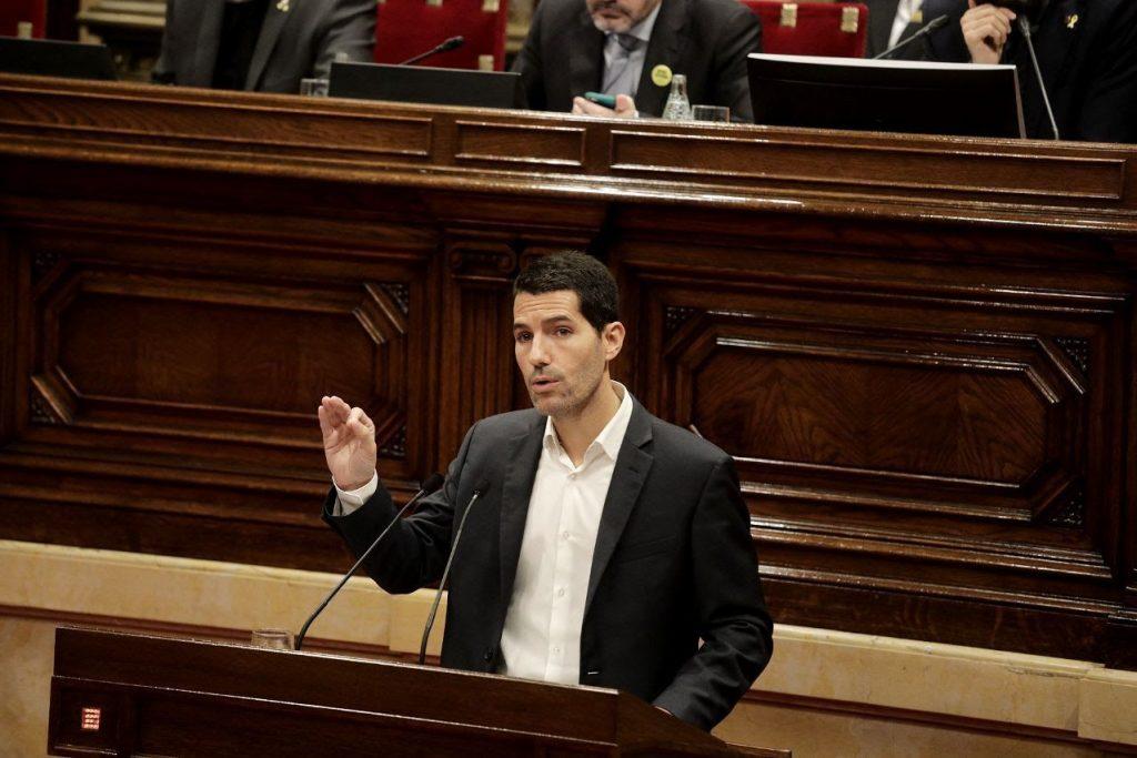 Nacho Martín Blanco (Cs), en el Parlament