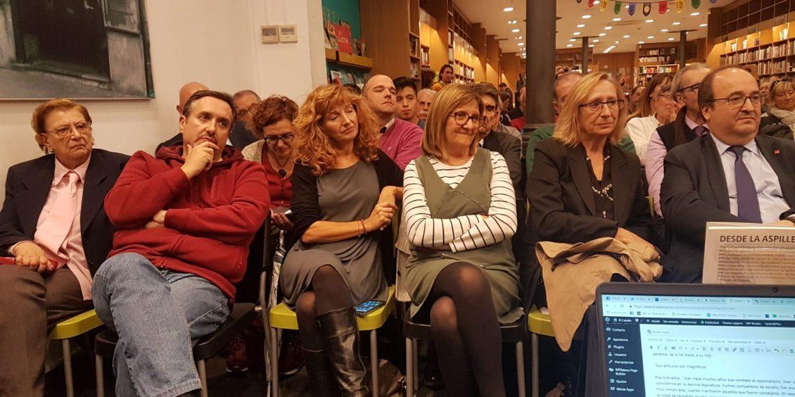 Miquel Iceta Carme Figueres presentación Desde la aspillera Joan Ferran