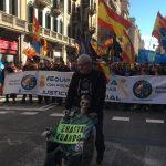 Manifestación de JUSAPOL por el centro de Barcelona