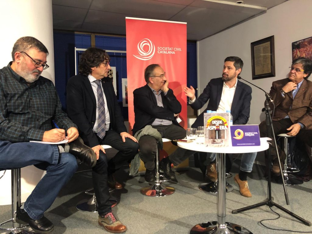 Sergio Fidalgo, David Pérez, Joan Ferran, José Rosiñol y Xavier Marín