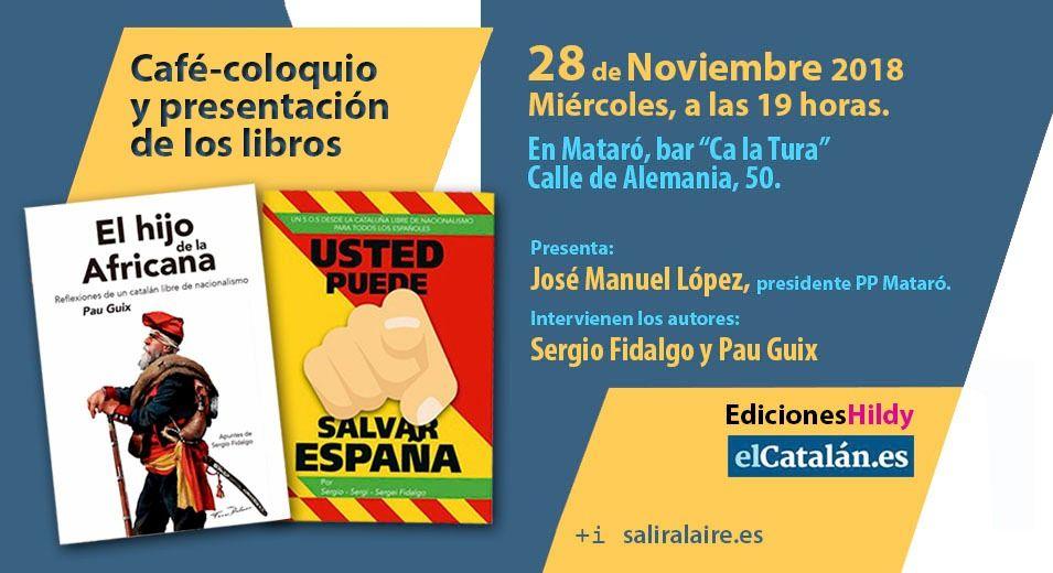 Tarjetón presentación Mataró Pau Guix y Sergio Fidalgo