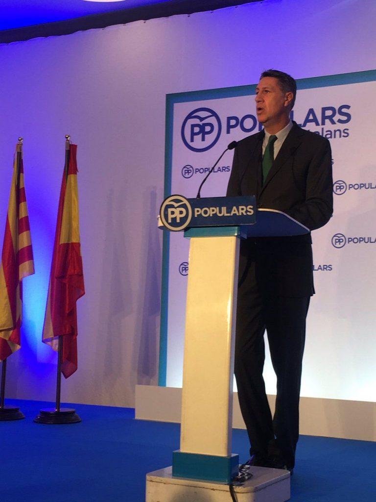 Xavier García Albiol en el Congreso del PPC