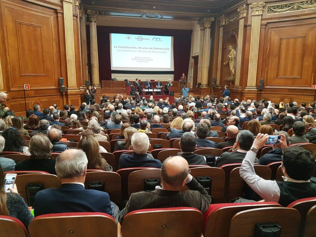 La Constitución, 40 años de democracia en el Colegio de Abogados de Barcelona