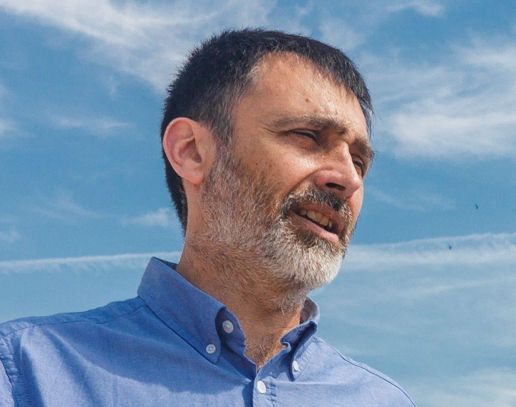 Óscar Uceda, autor de la Piel de todos