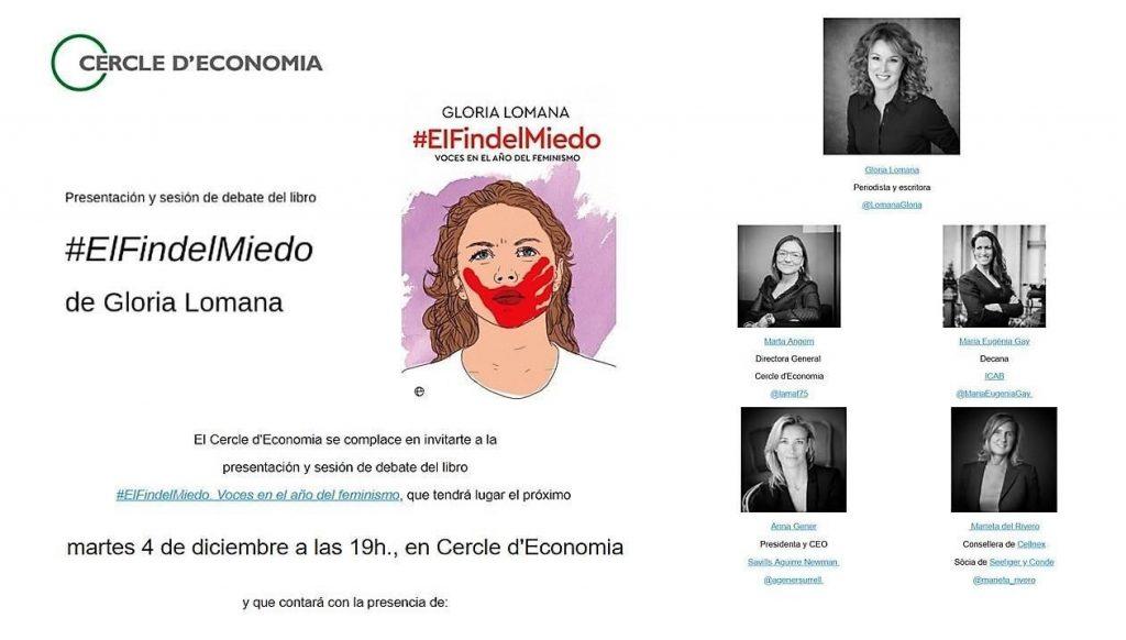 Presentación libro Gloria Lomana en Barcelona