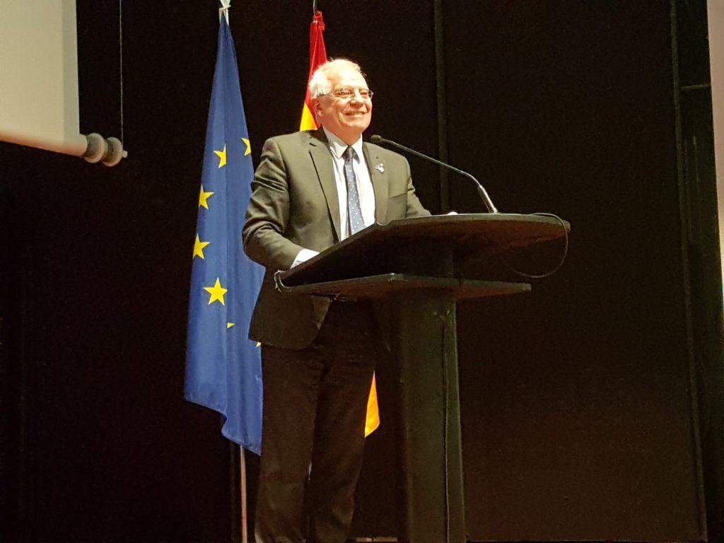 Josep Borrell acto 40 años Constitución en Bruselas
