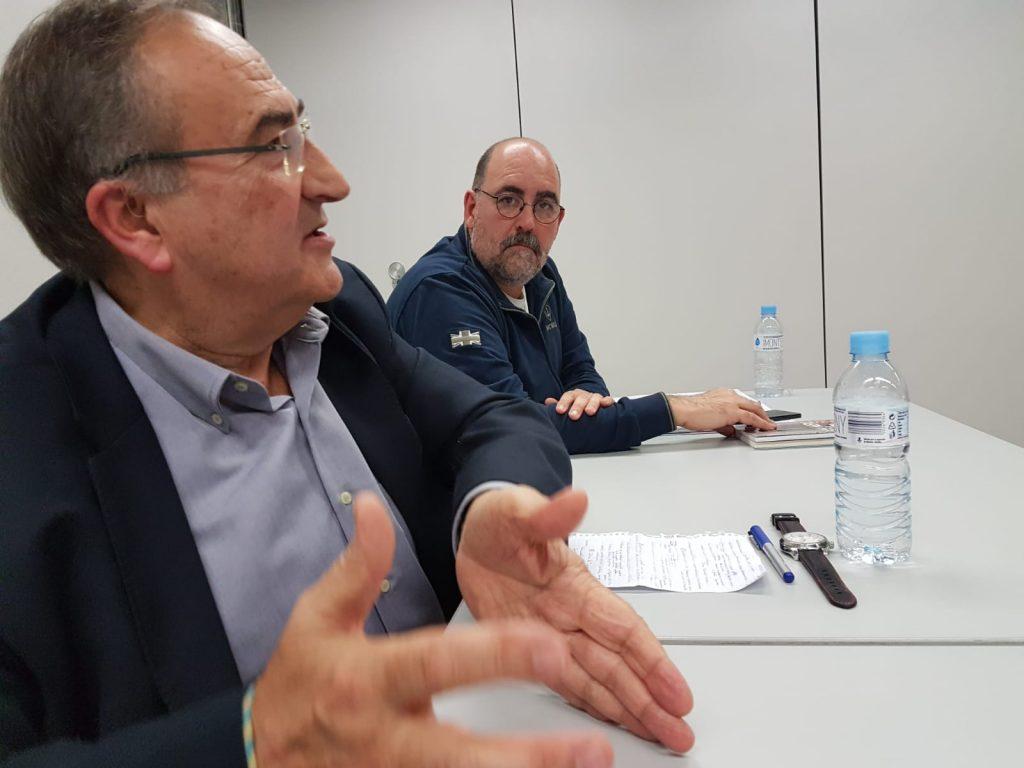 Joan Ferran y Nicolás Cortés