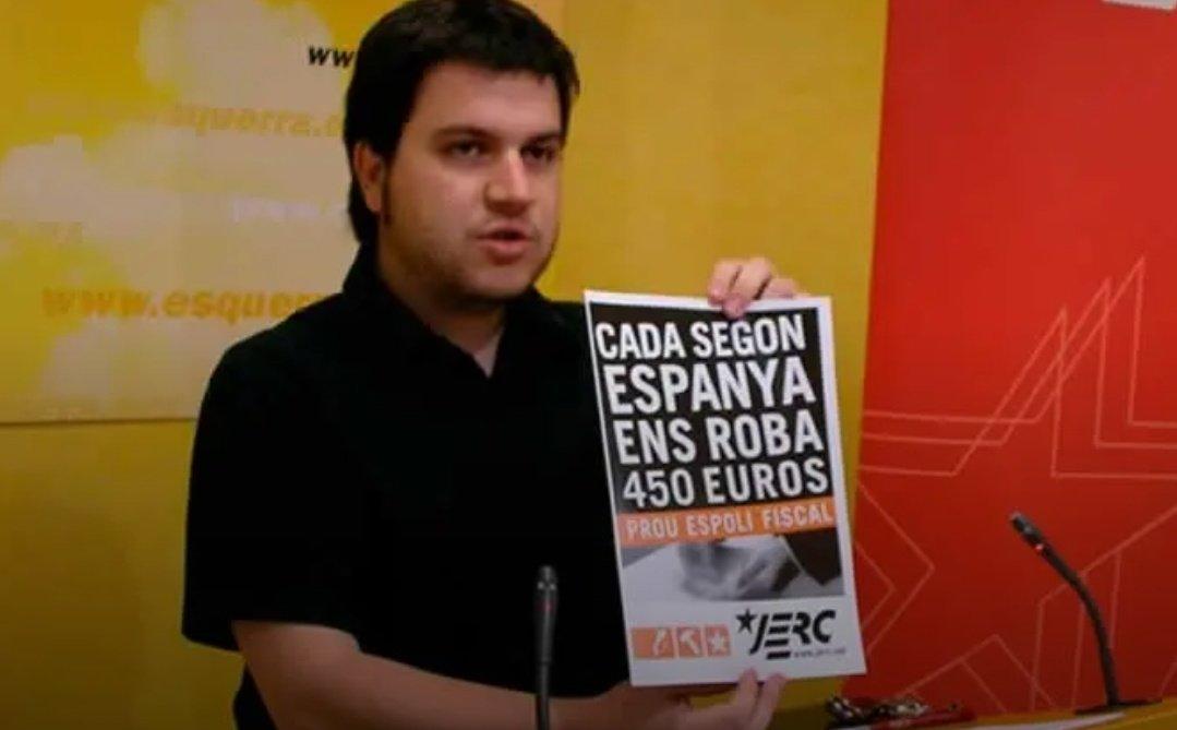 """España no nos """"roba"""", lo hace el separatismo de Junqueras, Aragonès y Puigdemont"""